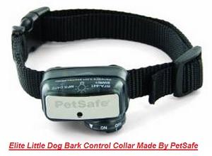 Elite Little Dog Bark Collar